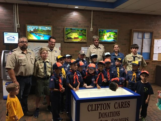 Boy Scout Troop group 1