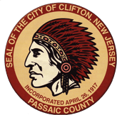 Clifton New Jersey seal